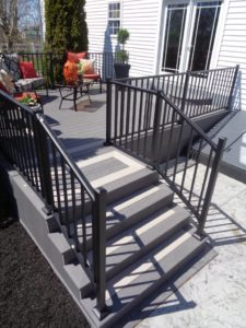 Custom Sized Two Toned Steps