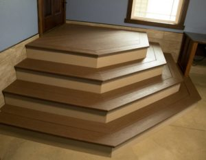 Interior Vinyl Stairs two toned