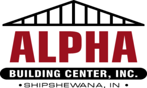 Alpha Red and Black logo