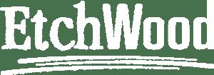 EtchWood Logo [White]