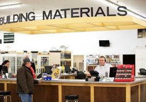 Our materials counter at Alpha is staffed and ready to assist you.